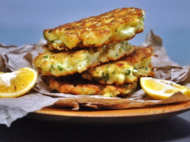 Cauliflower, Quinoa and Feta Fritters - Australian Kitchen