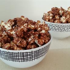 Chocolate Chilli Almond Popcorn by The Gluten and Dairy Free Bakehouse