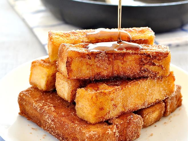 Cinnamon French Toast Sticks · Australian Kitchen