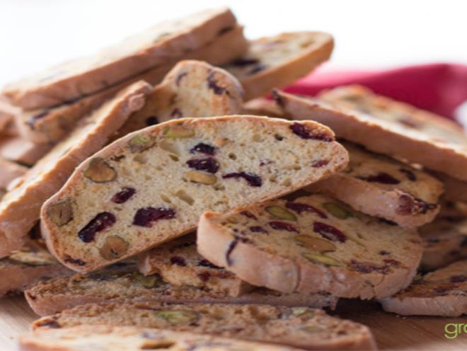 Cranberry And Pistachio Biscotti · Australian Kitchen