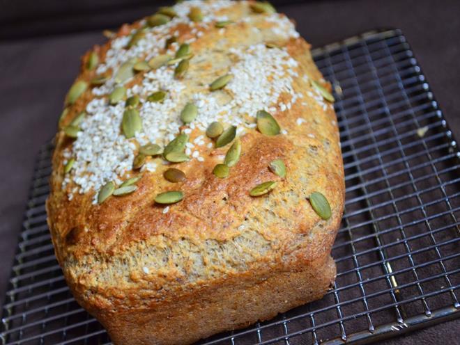 Gluten Grain and Yeast Free Bread