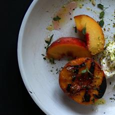 Grilled Peaches by Boy and Spoon