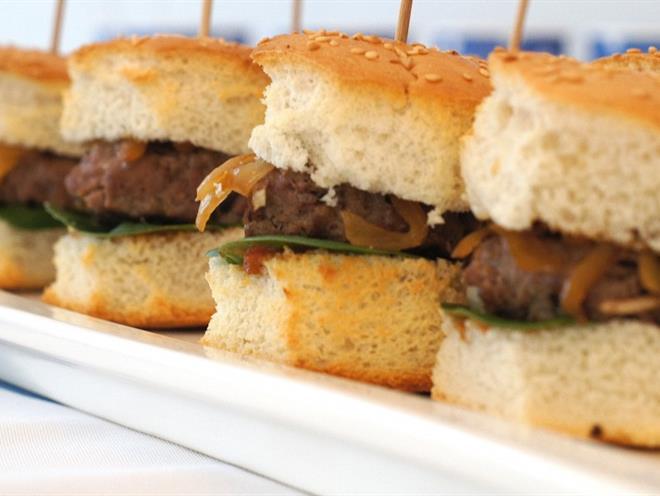 Mini Hamburgers - Australian Kitchen