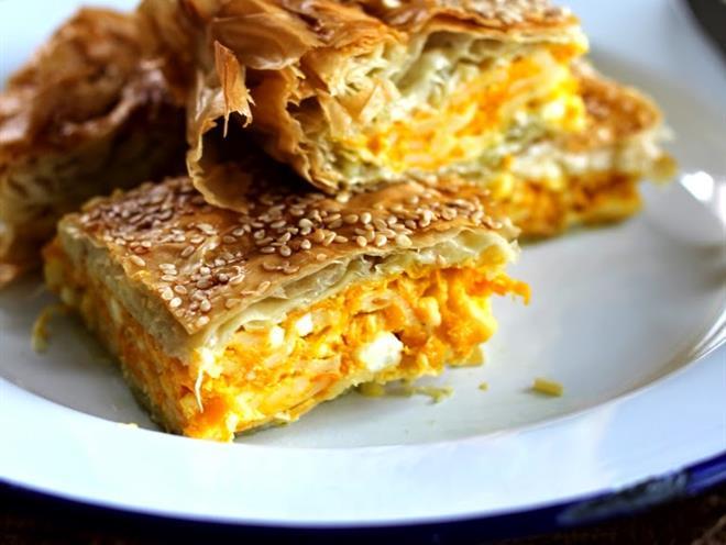 Pumpkin and Feta Pie · Australian Kitchen