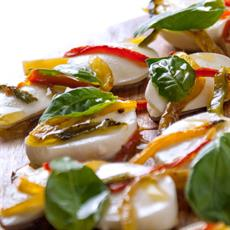 Roasted Chilli And Basil Bocconcini by Sprinkles and Sprouts