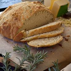 Rosemary and Cheese Damper by The Lemon Grove Cake Diaries