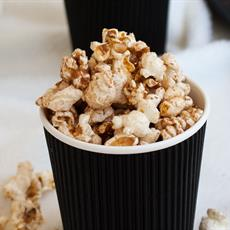 Salted Cinnamon Sugar Popcorn by Sprinkles and Sprouts