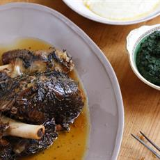 Slow Cooked Shoulder of Lamb by Maggie Beer Foundation