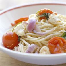 Spaghetti with Cherry Tomatoes, Ricotta and Spinach - Australian ...