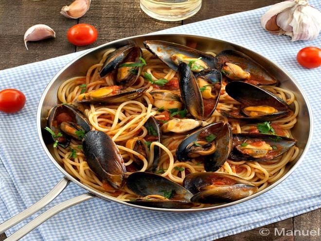 Spaghetti with Mussels - Australian Kitchen