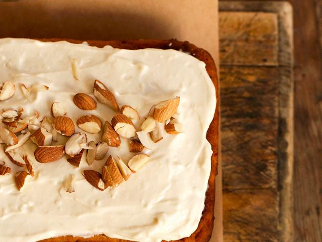 Spiced Carrot Cake with Maple Orange Icing · Australian Kitchen