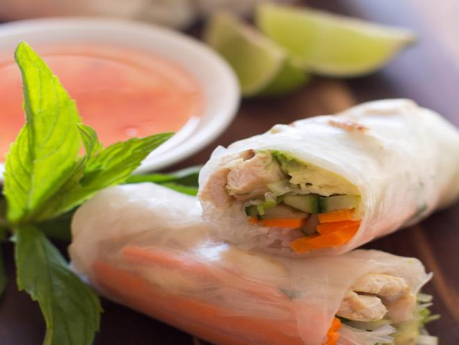 Vietnamese Rice Paper Rolls Australian Kitchen