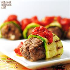 Zucchini-wrapped Lamb Koftas by Ooh, Look