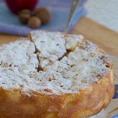 Apple Cake With Macadamias