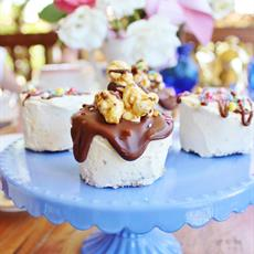 Banana Sundae Mini Cakes