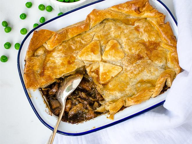 Beef and Guinness Pie · Australian Kitchen