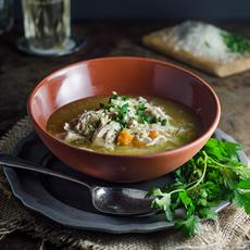 Brodo Di Pollo Italian Chicken Soup