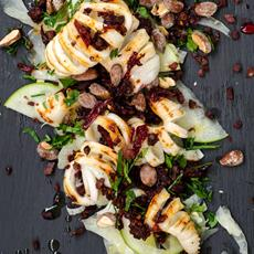 Chargrilled Squid with Smokey Chilli, Fennel & Apple