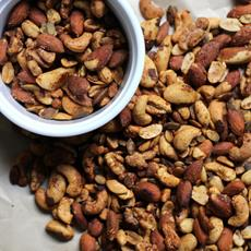 Chilli Lime Roasted Nuts by Dancing Through Sunday