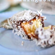 Coconut Panna Cotta Lamingtons by Claire K Creations
