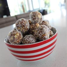 Date and Fig Truffles by Eat, Drink & Be Kerry
