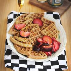 Feather Light Buckwheat Waffles
