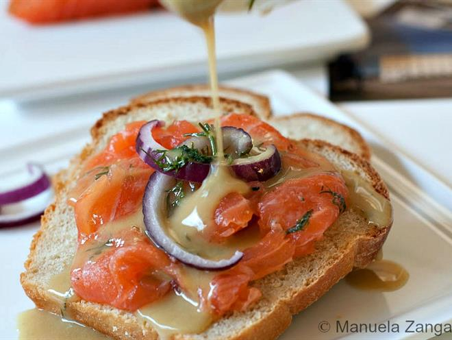 Gravlax With Sweet Dill Mustard Sauce · Australian Kitchen