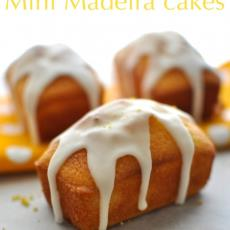 Madiera Loaf Cakes With Lemon Icing
