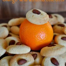 Orange And Almond Biscuits