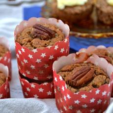 Paleo Banana and Pecan Muffins