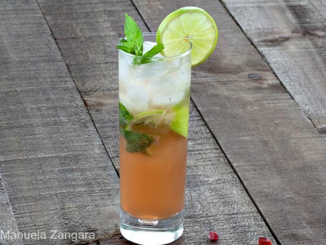 Pomegranate Mojito · Australian Kitchen