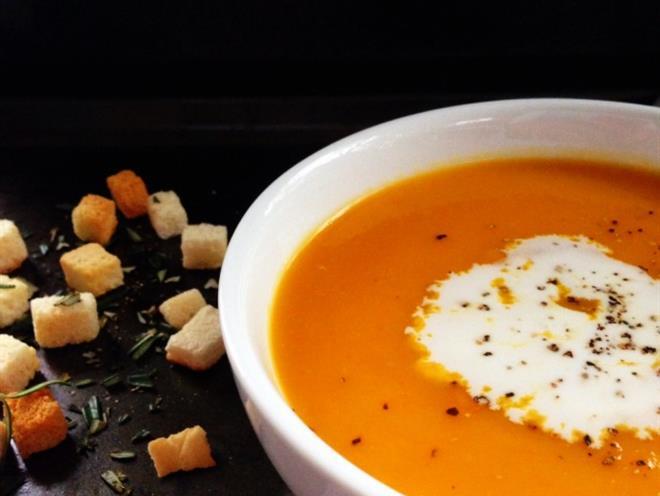Pumpkin and Coconut Milk Soup · Australian Kitchen