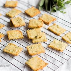 Quinoa Parmesan Crackers by A Fresh Legacy