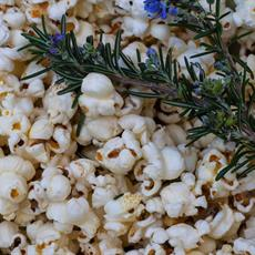 Rosemary & Roasted Garlic Popcorn by Der Tisch