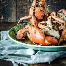 Salt and Pepper Mud Crabs