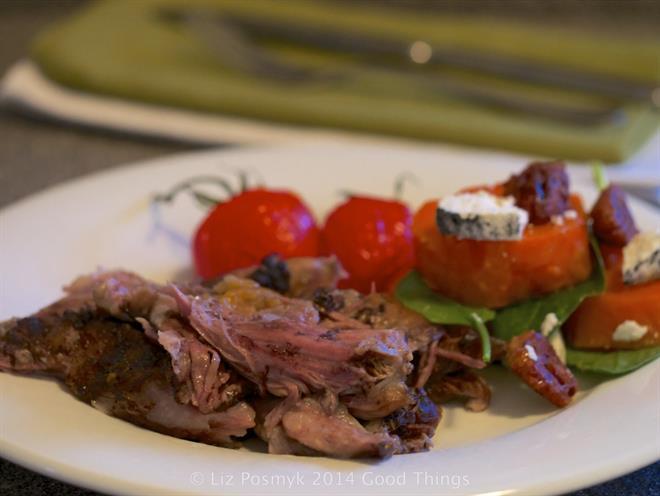 Slow-roasted Lamb Shoulder With Baharat, Lemon And Garlic ...