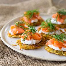 Homemade ranch dressing australian kitchen for Smoked trout canape
