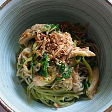 Spring Onion Soba Noodles by LemonPi