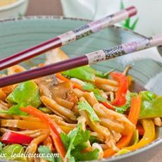 Stir Fry Vegetables With Udon Noodles · Australian Kitchen