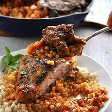 Syrian Chicken With Giant Couscous