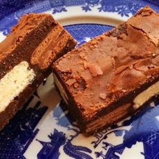 Tim Tam Stuffed Brownies by Bake Play Smile